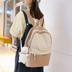 Gokk - Two Tone Nylon Backpack