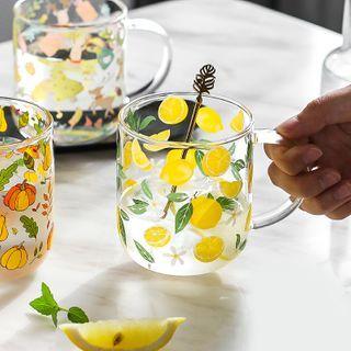 Kawa Simaya - Printed Glass Mug