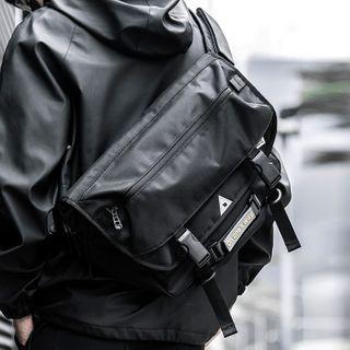 Moyyi - Flap Buckled Crossbody Bag