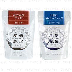 MAX - Genki Healing Element Bath Powder 400g - 2 Types