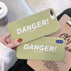 Aion - Lettering Mobile Case - iPhone XS Max / XS / XR / X / 8 / 8 Plus / 7 / 7 Plus / 6s / 6s Plus