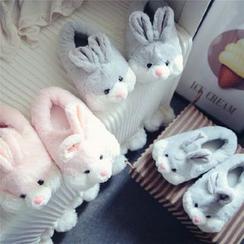 BEANS - Rabbit Fleece Home Slip Ons