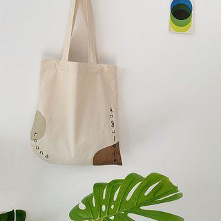 Yeyu Studio - Lettering Canvas Tote Bag