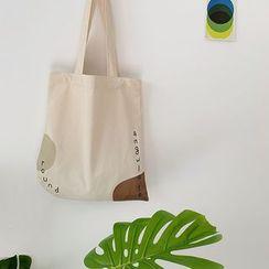 Yeyu Studio - 字母帆布手提袋