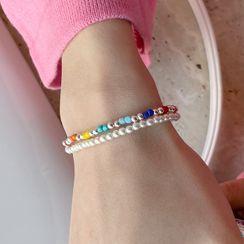 DEEPNY - Multicolor Bead Bracelet