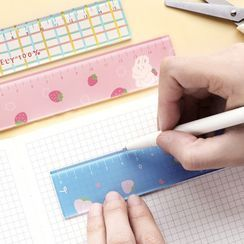 Cute Essentials - Cartoon Print Acrylic Ruler