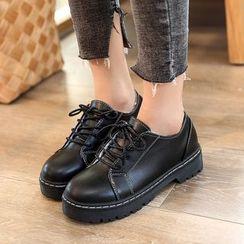 Arpeggi - 繫帶厚底鞋