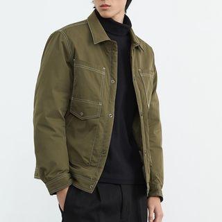 Orizzon - Button-Up Padded Jacket