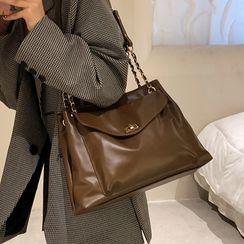Skyglow - Faux Leather Shoulder Bag