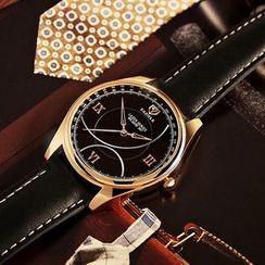 YAZOLE - 复古带手表
