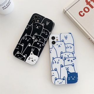 KeCase - Cat Phone Case - iPhone 12 Pro Max / 12 Pro / 12 / 12 mini / 11 Pro Max / 11 Pro / 11 / SE / XS Max / XS / XR / X / SE 2 / 8 / 8 Plus / 7 / 7 Plus / 6 / 6 Plus