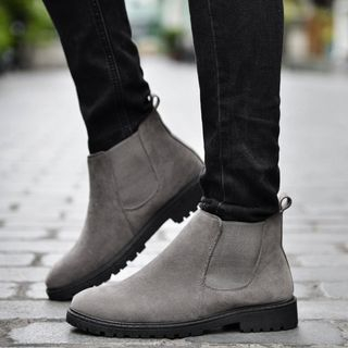 Auxen - 纯色切尔西靴子