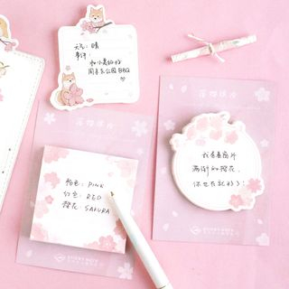 Cute Essentials - Sakura Sticky Note