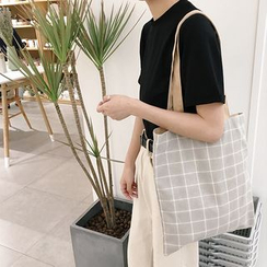 Eastin - Double-Sided Canvas Shopper Bag