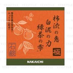 NAKAICHI - Clear Body Soap Kiwami Persimmon Tannin & White Cley