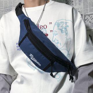SUNMAN - Lettering Lightweight Sling Bag