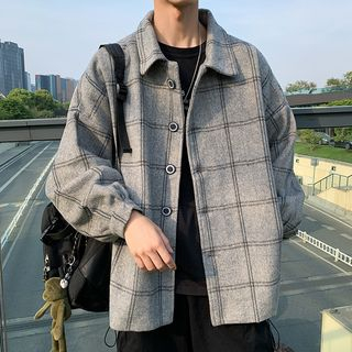 Ateso - Plaid Button-Up Jacket