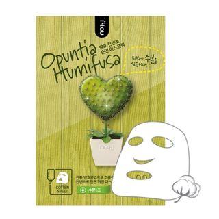 no:hj - Opuntia Humifusa Gold Foil Mask Pack Moisture 1pc