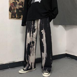 Shineon Studio - 扎染直筒裤
