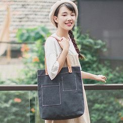 LEUCO - Plain Tote Bag