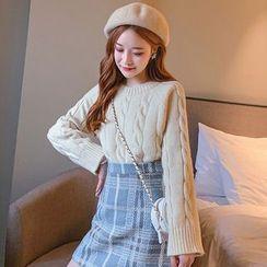 Bolifon - Cable Knit Sweater