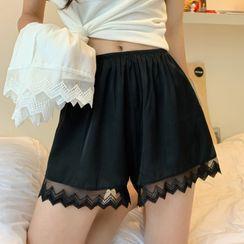 Sisyphi - Lace Boy Shorts