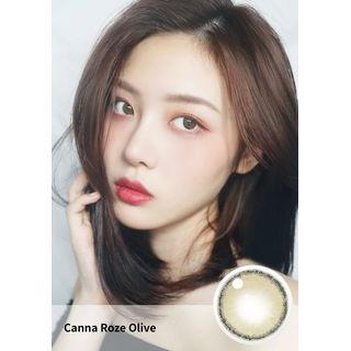 i - DOL - Canna Roze Yearly Color Lens #Olive Green