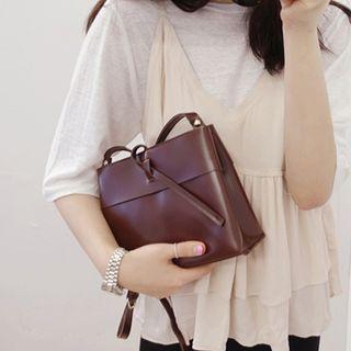 Clair Fashion - 韓妞最愛設計款皮革方包