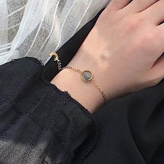 Calypso - Ball Pendant Chain Bracelet
