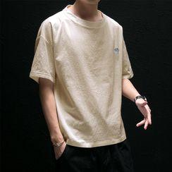 KOKAY - Short-Sleeve Embroidered T-Shirt