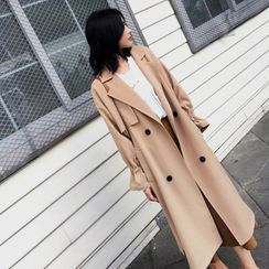 Luminato - 纯色长风衣