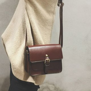 Lizzy - Faux Leather Mini Satchel