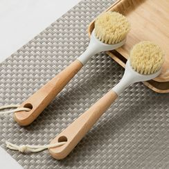 MyHome - Wooden Handle Kitchen Cleaning Brush