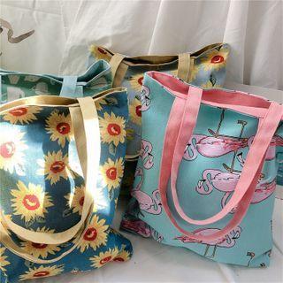 Milha - Printed Shopper Tote Bag