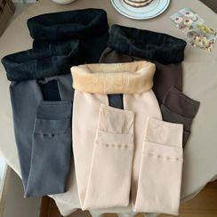 Closette - High-Waist Fleece Lined Leggings