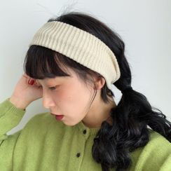 Birravin - 純色針織髮帶