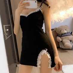JOWI - Lace Trim Nightdress
