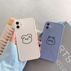 Vachie - Animal Print Phone Case - iPhone 11 Pro Max / 11 Pro / 11 / SE / XS Max / XS / XR / X / SE 2 / 8 / 8 Plus / 7 / 7 Plus