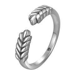 Supremo - 925 Sterling Silver Open Ring