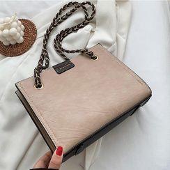 aimitu - Faux Leather Carryall Bag