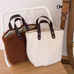 Leftsac - Fleece Handbag