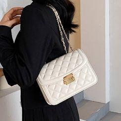 Miloes - Quilted Flap Shoulder Bag