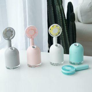 PIPPA - USB Rechargeable Fan Mix Mini Humidifier 2-In-1