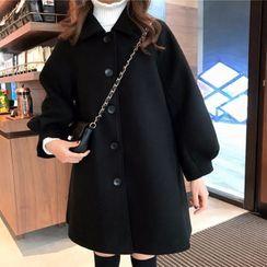 KOHIN - Button-Up Coat