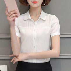 In the Mood - Short-Sleeve Dress Shirt