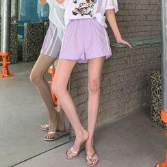 Cherryville - Pipe-Trim Sweat Shorts