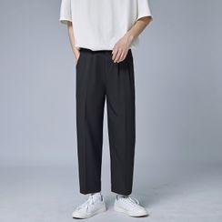 MIKAEL - Cropped Straight Leg Pants