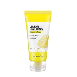 Secret Key - Lemon Sparkling Cleansing Foam, mousse nettoyante 200 g