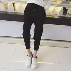 Eva Fashion - Pantalones holgados con cordón
