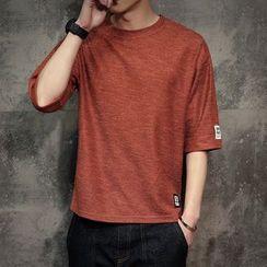 Alvicio - Plain 3/4 Sleeve T-Shirt